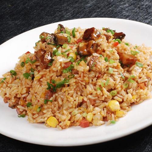 美味韩式杂菜炒饭