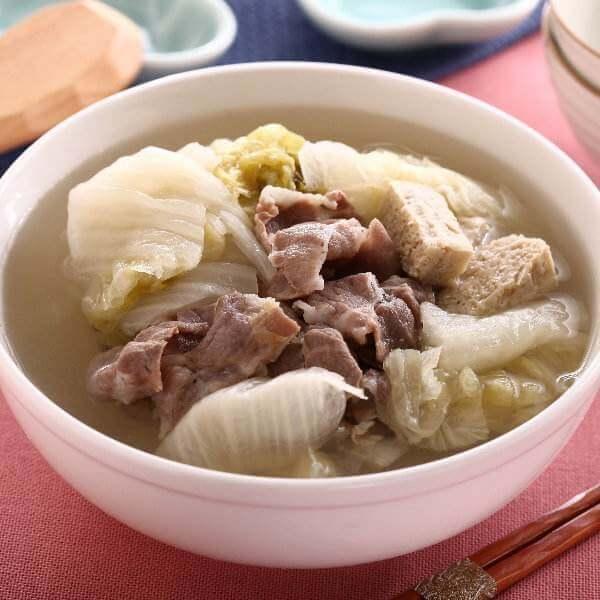 农家猪肉炖冻豆腐