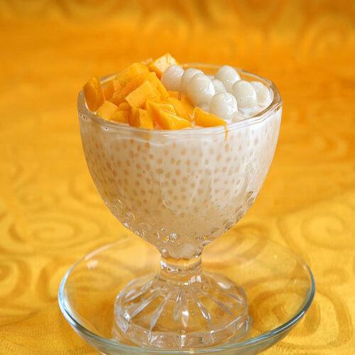 芒果青奶昔