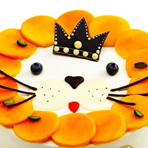 芒果狮子摆盘