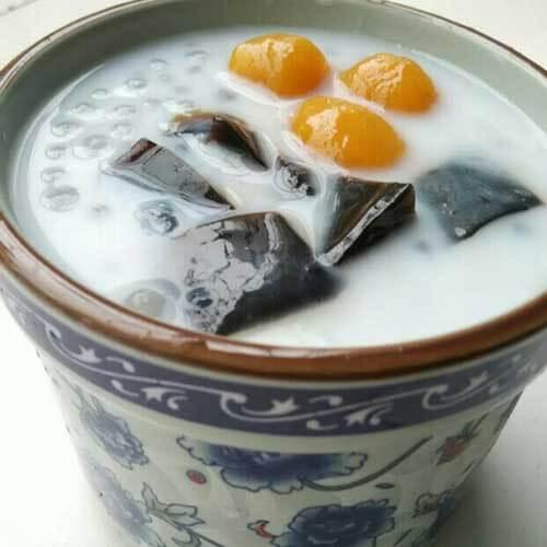 椰汁芋圆西米露