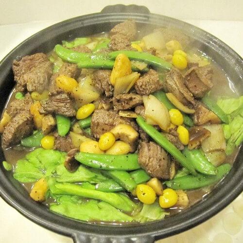牛肉大锅菜