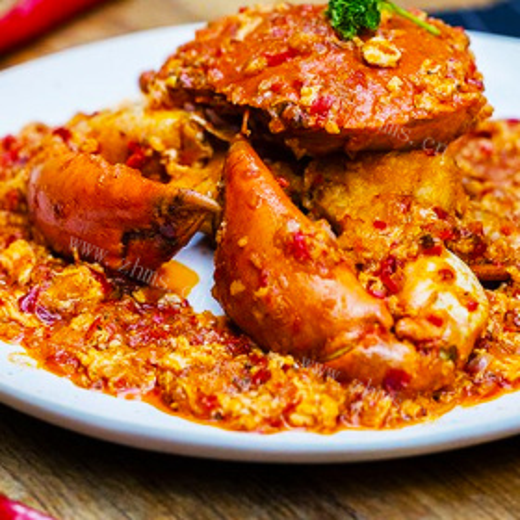新加坡辣椒炒蟹