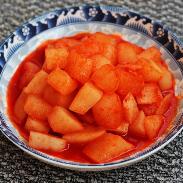 水萝卜泡菜