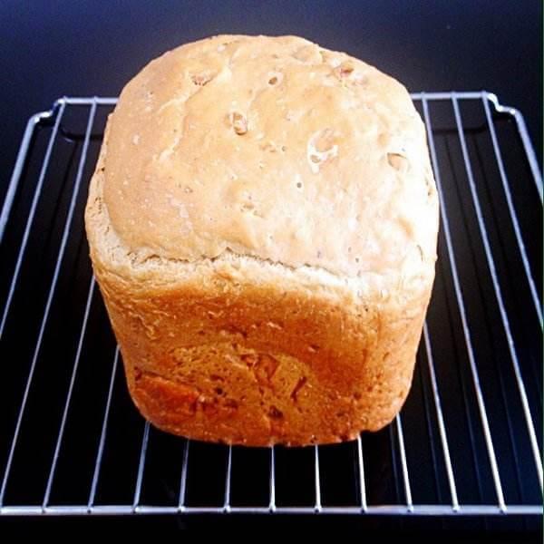 无糖低盐核桃面包