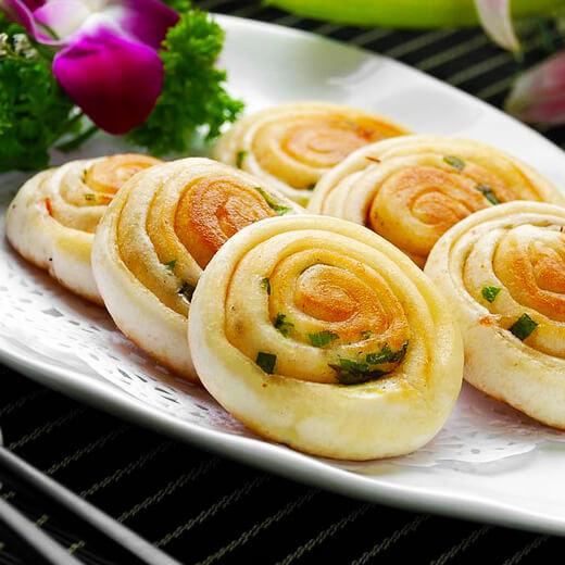 #DIY美食#老上海葱油饼