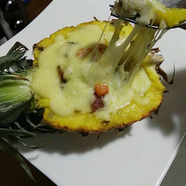 菠萝芝士焗饭