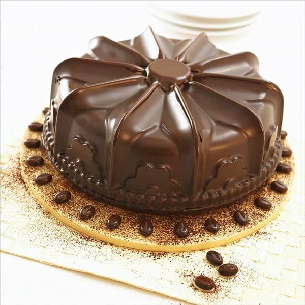 橙香巧克力果仁蛋糕