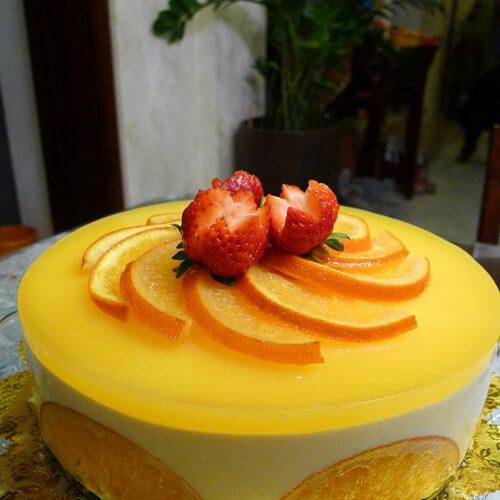 巧克力香橙蛋糕