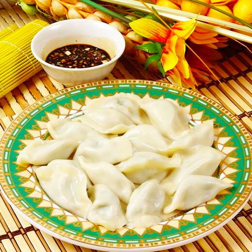 羊肉芹菜馅饺子