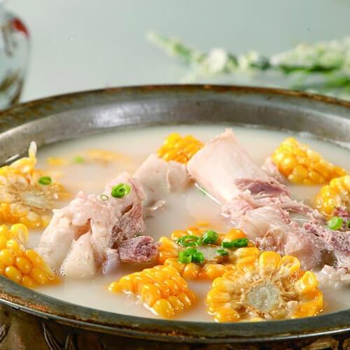 白萝卜筒骨汤