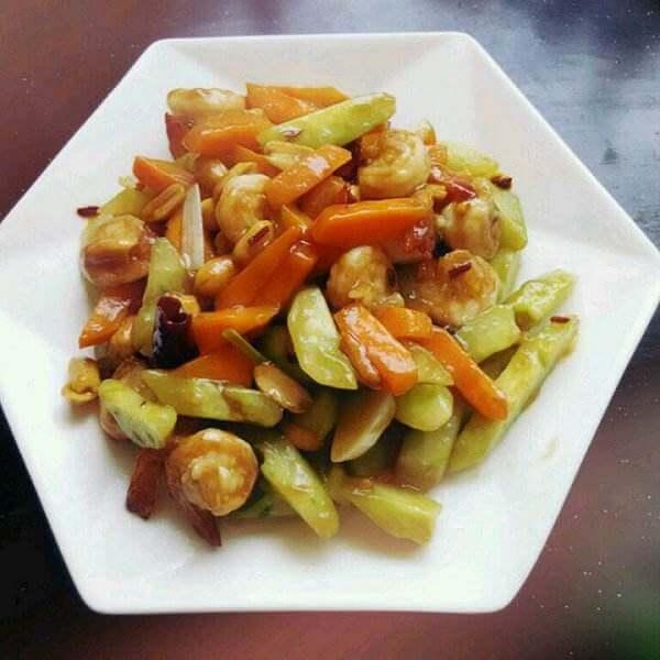 彩色营养菜