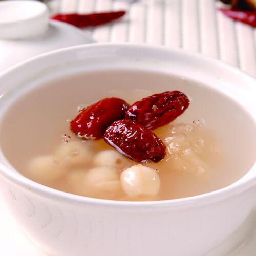 香气浓郁的红豆薏米莲子粥