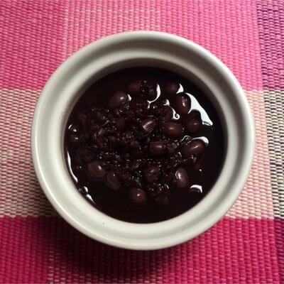 绿豆黑米粥