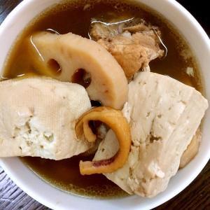 排骨栗子莲藕花胶汤