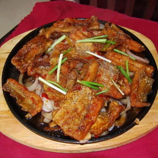 海鲜酱煮带鱼