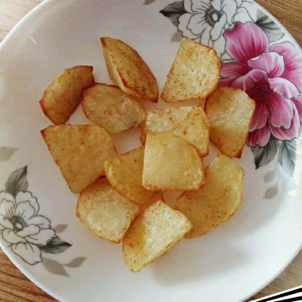 黑椒培根烤土豆