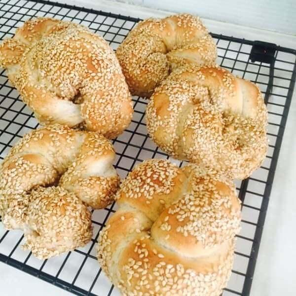 奥尔良芝麻面包