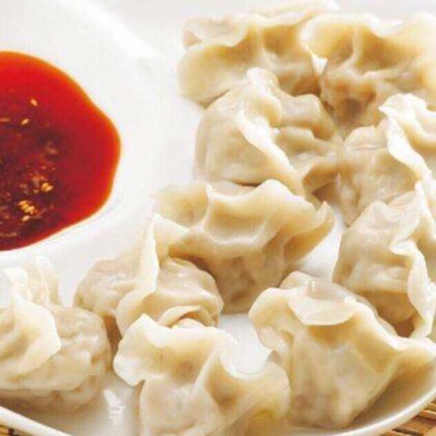 好吃的莴笋叶肉馅饺子