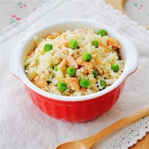 美味青豆韩式辣酱炒饭