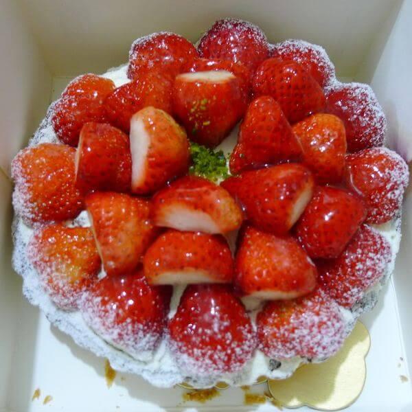 酸奶草莓塔
