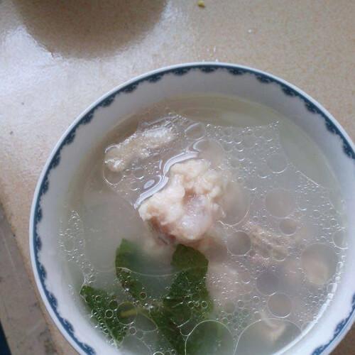 薄荷猪蹄汤