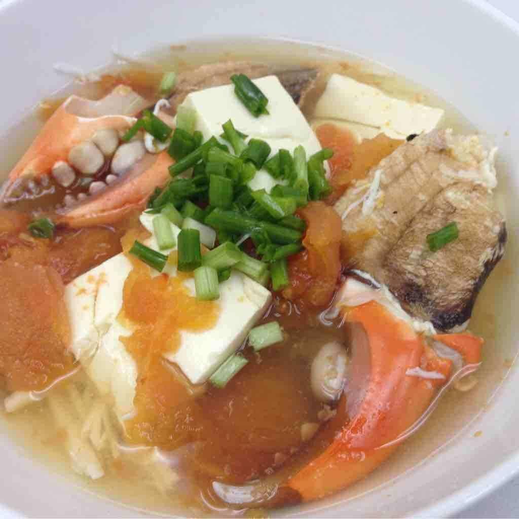 蟹薯土豆汤