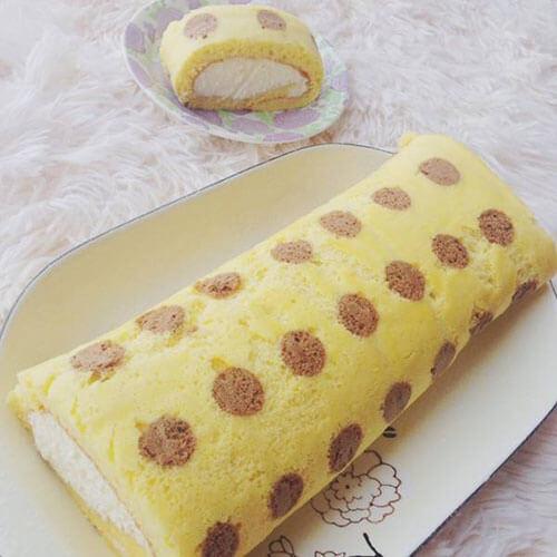 波点蛋糕片