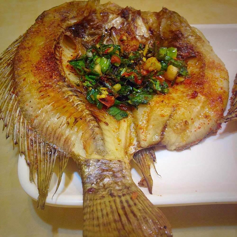 酱香烤鳜鱼