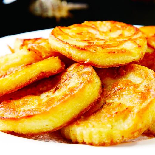 萝卜丝豆渣煎饼