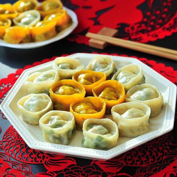 元宝汤水饺