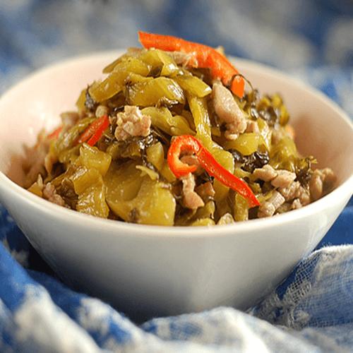 有特色的黄豆酸菜煨猪手
