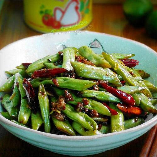 虾酱四季豆