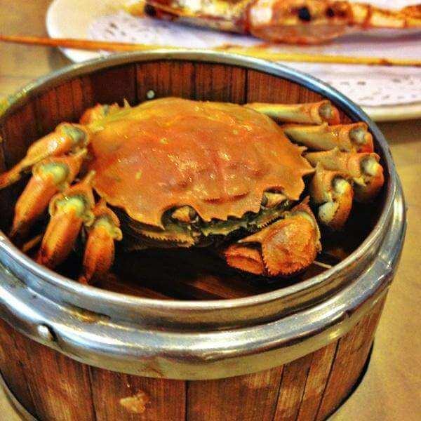 #暖心#蟹子烤豆腐