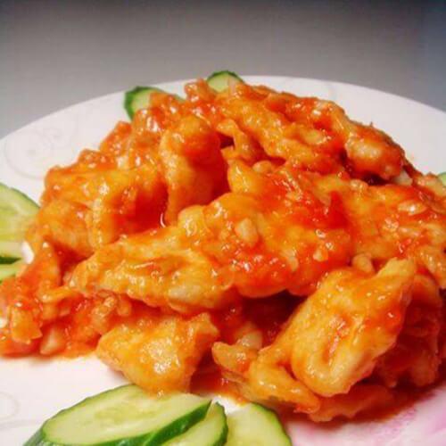 百里香茄汁甜椒鸡肉
