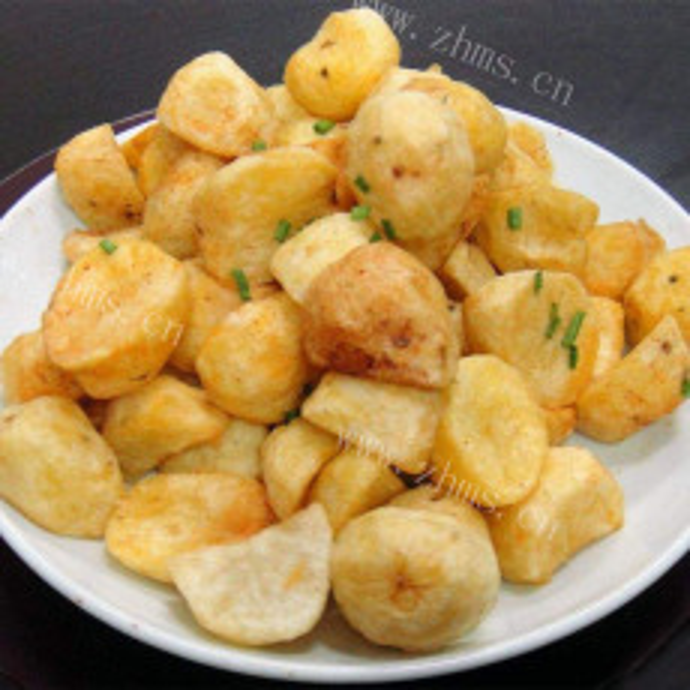 油炸土豆块
