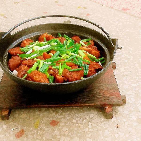 红烧肉腐竹