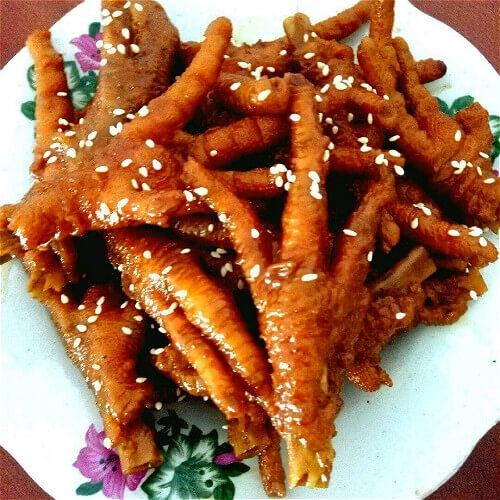 花椒鸡爪火腿肠