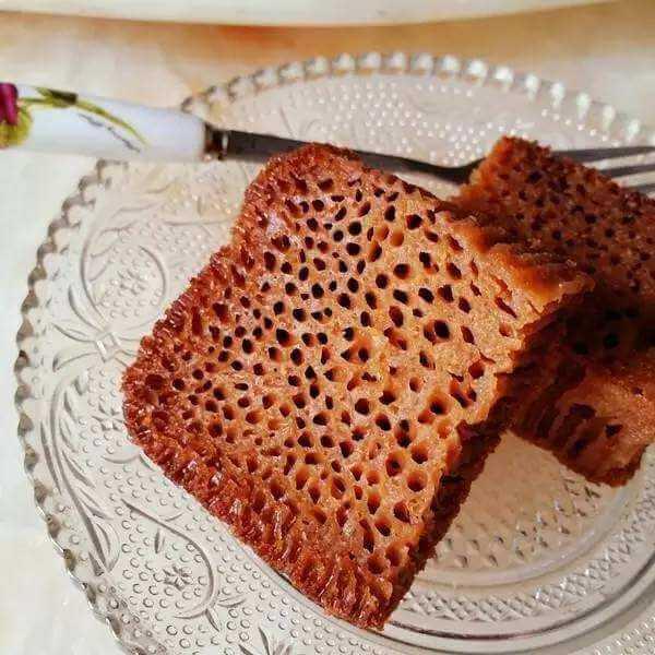 香甜诱人之蜂巢蛋糕
