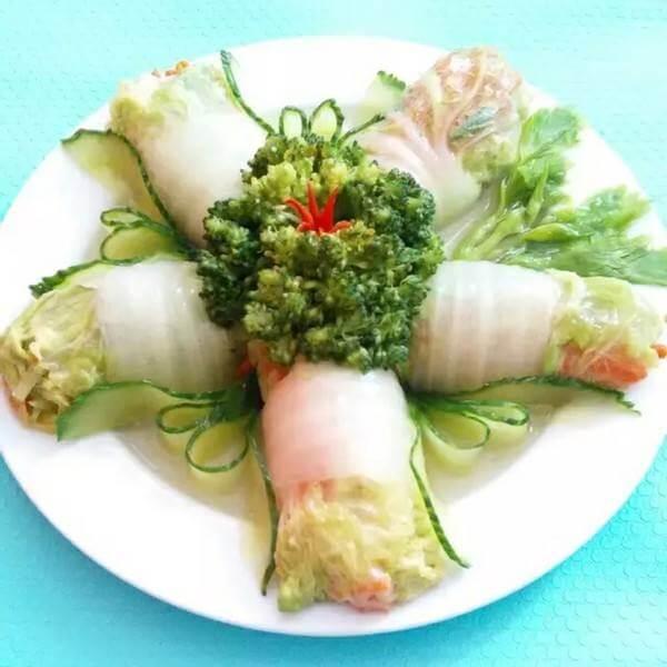 白菜萝卜卷