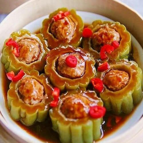 香菇酿肉虾