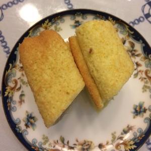 美味的椰浆香蕉蛋糕