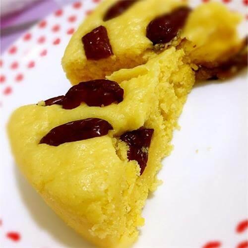 红枣玉米发糕