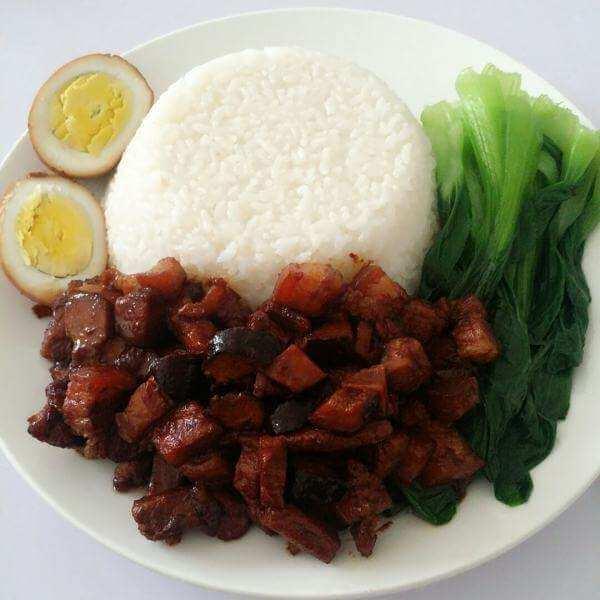五蔬肉香饭