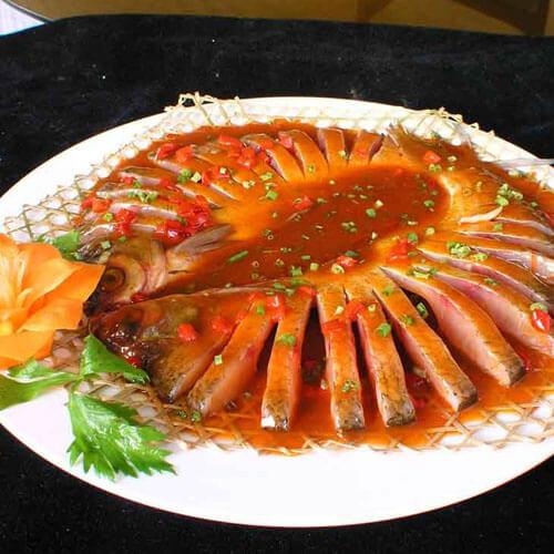 土豆蒸武昌鱼