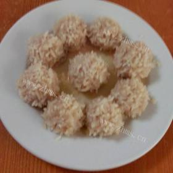 炸虾仁肉丸子