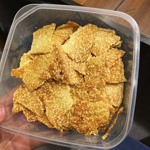 芝麻叶子脆饼