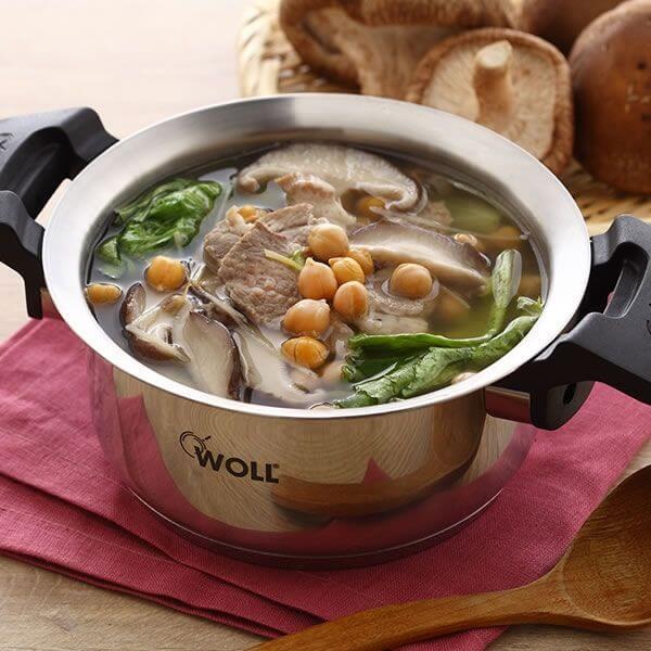 香麦菜肉片汤
