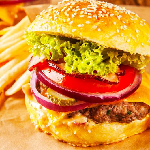 奥尔良汉堡包