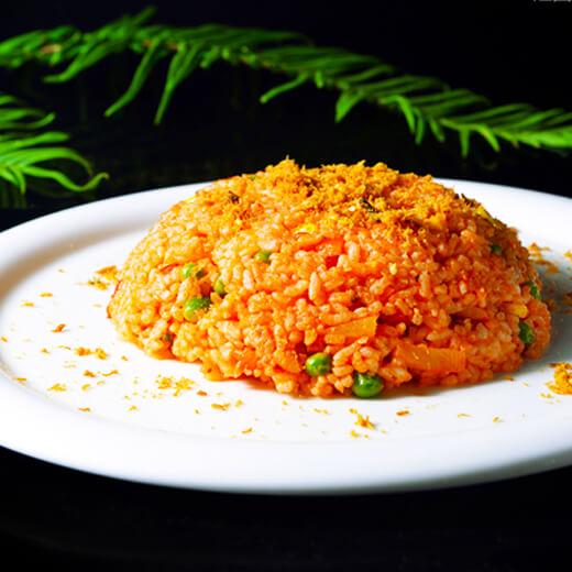 菠萝炒米饭